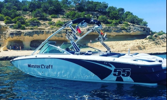 Enjoy Watersports On Our 25' Mastercraft X55 In Palma, Spain