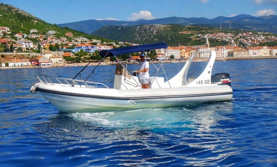 12 Person Susuzi Powered Rigid Inflatable Boat For Rent In Senj