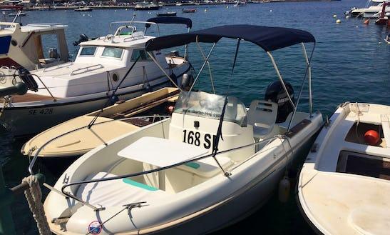 Deck Boat For Rent In Senj