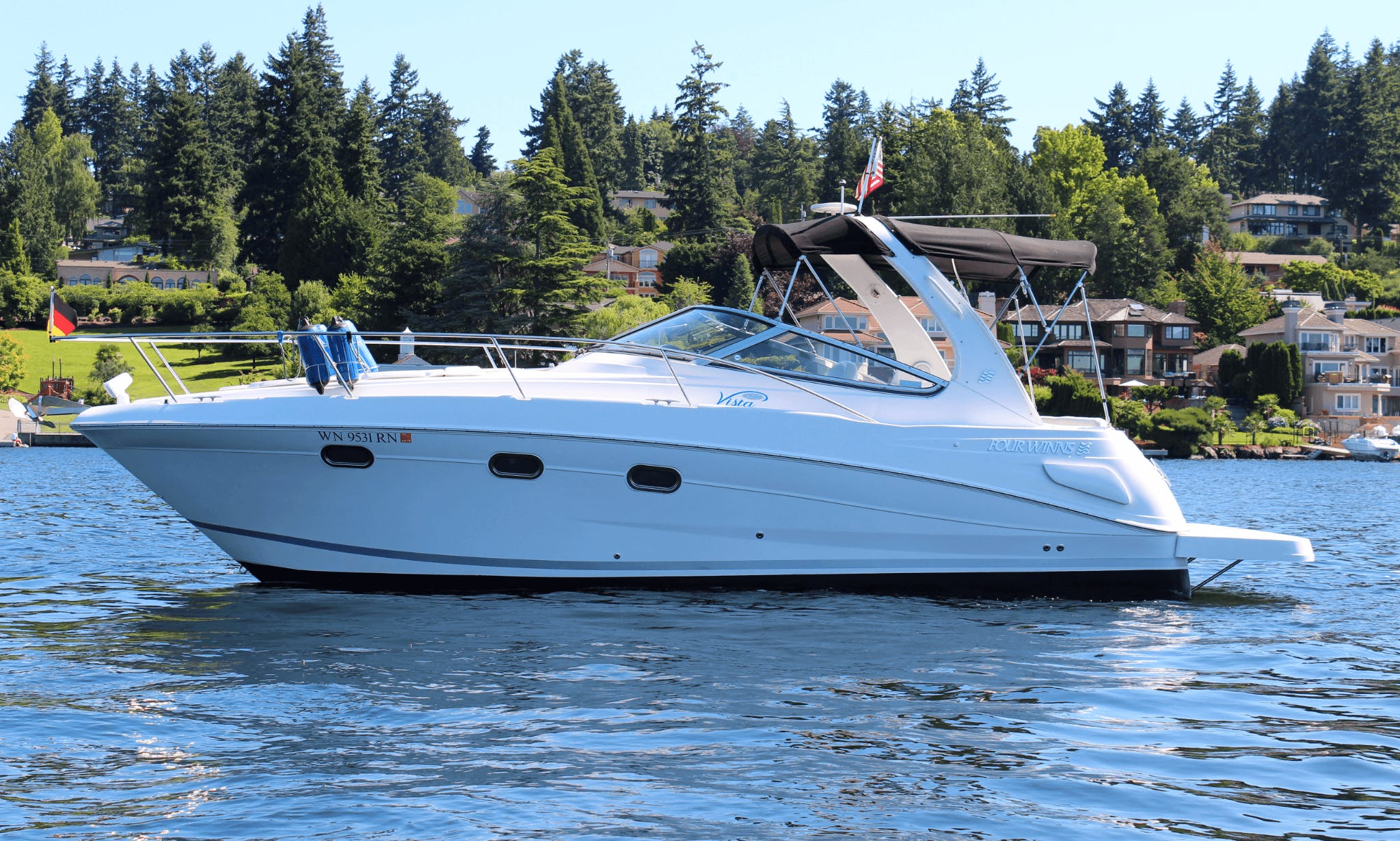 Charter this exceptional Express Cruiser, Rental In Bellevue & Seattle, WA