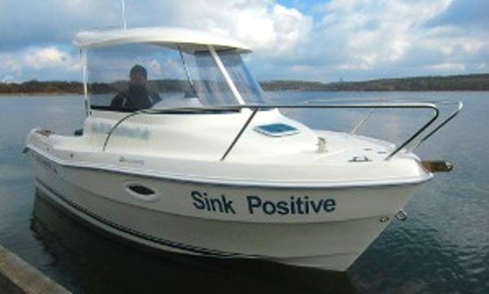 Rent 17' Quicksilver Pilothouse 530 Cuddy Cabin In Berlin, Germany