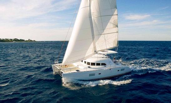Charter 38' Lagoon Cruising Catamaran In Piombino, Toscana