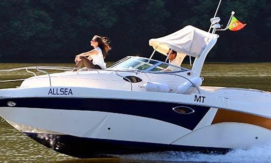 Charter 24' Allsea Gold II Motor Yacht in Foz do Sousa, Portugal
