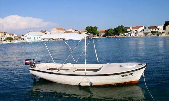 Rent 16' Pasara Dinghy In Dubrovnik, Croatia
