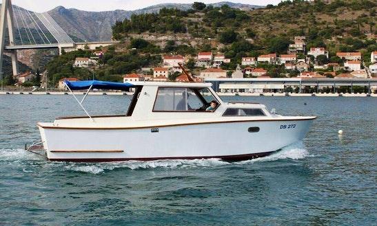Charter 29' Mario Motor Yacht In Dubrovnik, Croatia