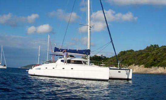 Charter 46' Bahia Cruising Catamaran In Santa Maria Di Lota, France