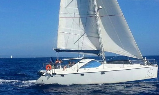 Charter 43' Privilege 43 Cruising Catamaran In Santa Maria Di Lota, France