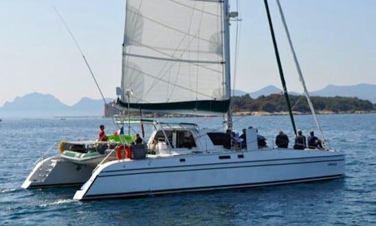 Charter 50' Catana 48 Cruising Catamaran In Santa Maria Di Lota, France