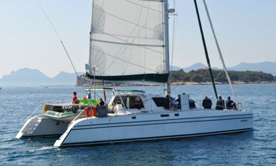 Charter 50' Catana 48 Cruising Catamaran In Santa Maria Di Lota, France