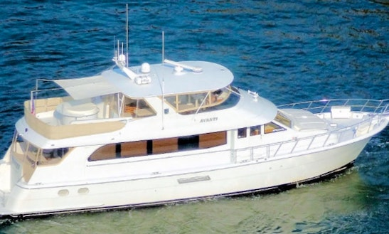 Power Mega Yacht For Rent In Jersey City