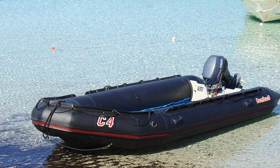 Rent 6 People Semi-rigid Inflatable Boat In Porto-vecchio, France