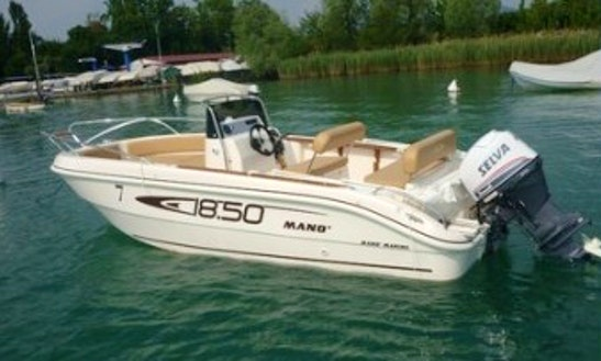Rent 19' Center Console In Lazise, Veneto