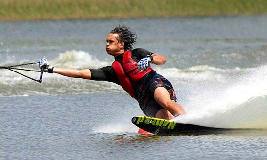 Enjoy Water Skiing In Lazise, Veneto