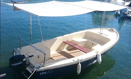 Rent 16' Dinghy In Stobreč, Croatia
