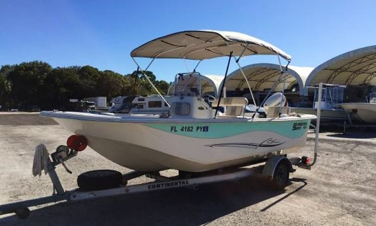 19' Carolina Skiff Rental In Tampa Bay Region, Florida