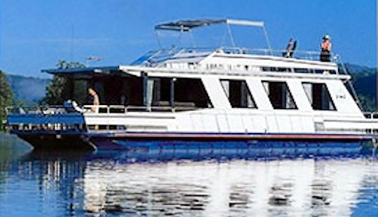 Charter 52' Island Penthouse  Houseboat In Wisemans Ferry, New South Wales For 12 Pax