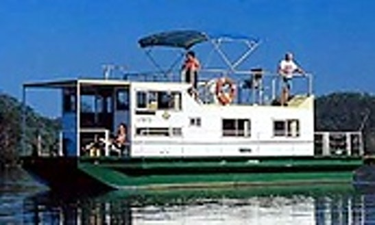 Charter 39' Super 8 Berth Houseboat In Wisemans Ferry, New South Wales