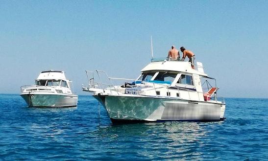 Charter 21' Motor Yacht In Ancona, Italy