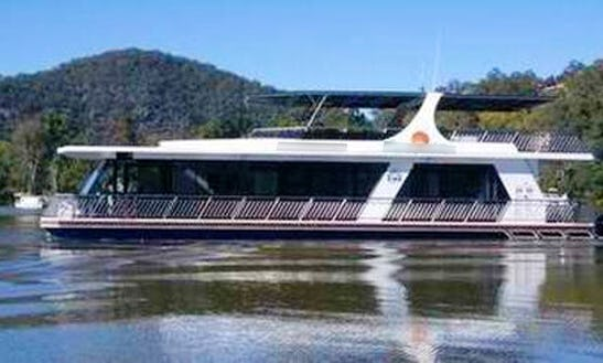 Charter 66' Five Star Spa Houseboat In Wisemans Ferry, New South Wales