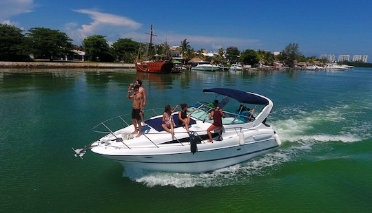 Crewed Charter On Bayliner 35ft  Motor Yacht In Cancún, Quintana Roo