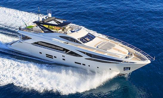 Charter 100' Amer Power Mega Yacht In Sanremo, Saint-tropez, Montecarlo, Alpes-côte D'azur