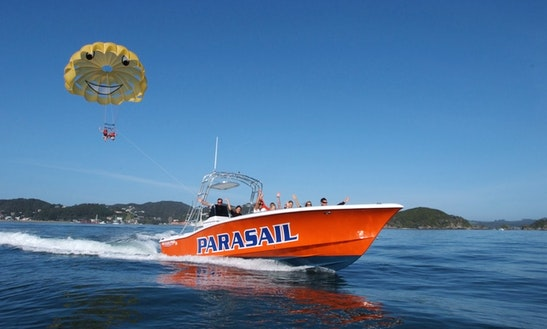 Parasailing In Russell