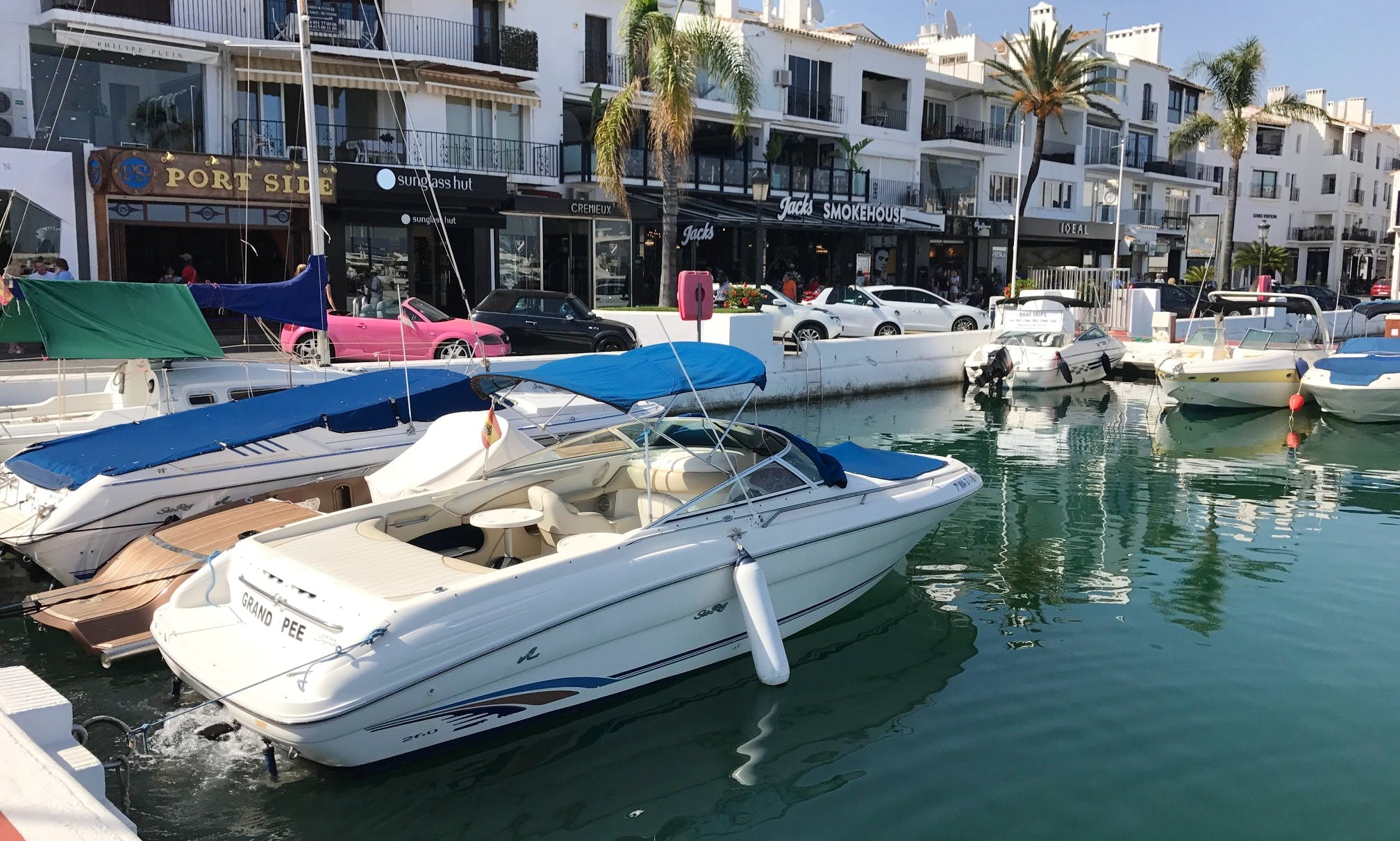 Bowrider Charter in Marbella