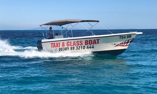 Rent Boat Water Taxi Medulin