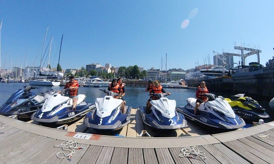 Jet Ski Excursion In Vigo