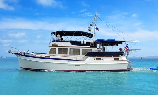 Charter 49' Grand Banks Trawler In Phuket, Thailand
