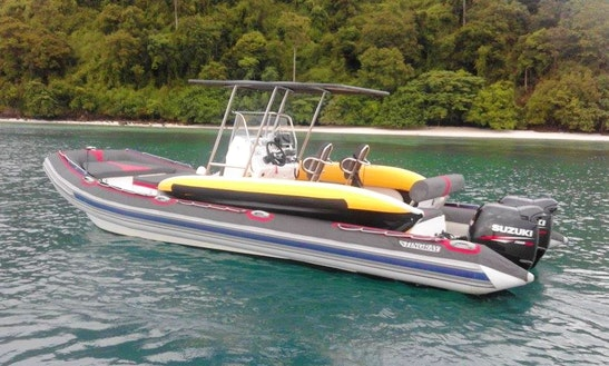 Charter 25' Stingray Predator Rigid Inflatable Boat In Phuket, Thailand