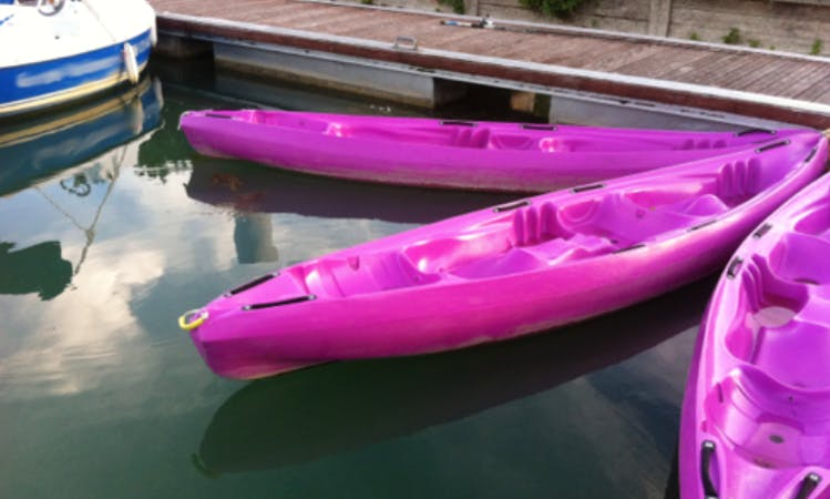 Enjoy Kayak Rentals in Mardeuil, France