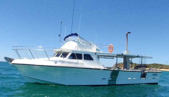 Enjoy Fishing In Mooloolaba, Australia With Captain Trent