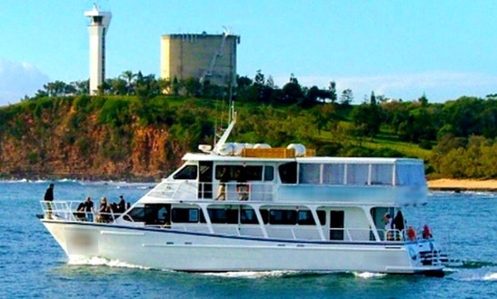 Charter On Captained Motor Yacht From Mooloolaba, Queensland