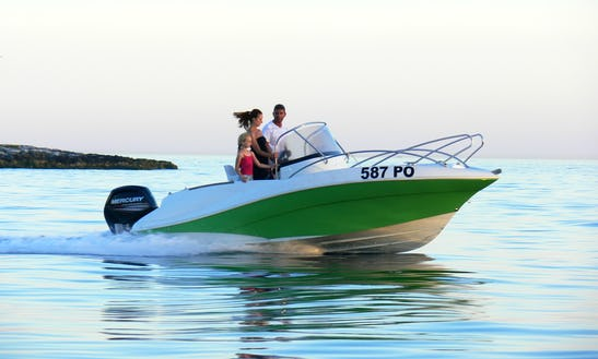 Rent A Quicksilver Commander 555 For 6 People In Vrsar, Croatia