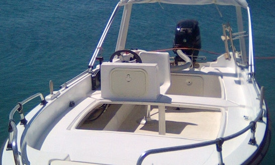 30-hp Self-drive Boat In Elounda-crete