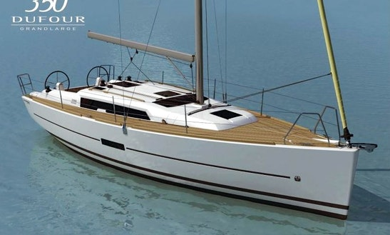 Charter The Dufour 350 Grand Large Sailing Yacht In Odessa, Ukraine