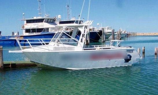 Enjoy 21' Reefwalker For Rent In Exmouth, Western Australia