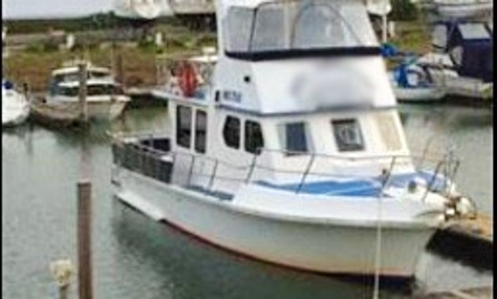Fishing Charter On 48ft Kruger Boat In Somerville, Victoria