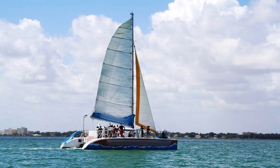 Enjoy 50' Cruising Catamaran For Rent In Fort Lauderdale