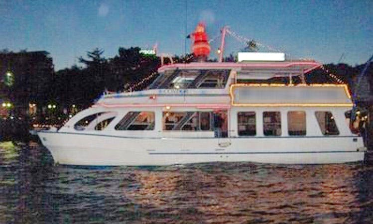 Enjoy Brisbane River Cruise in Hamilton, Queensland on 55' Power Catamaran