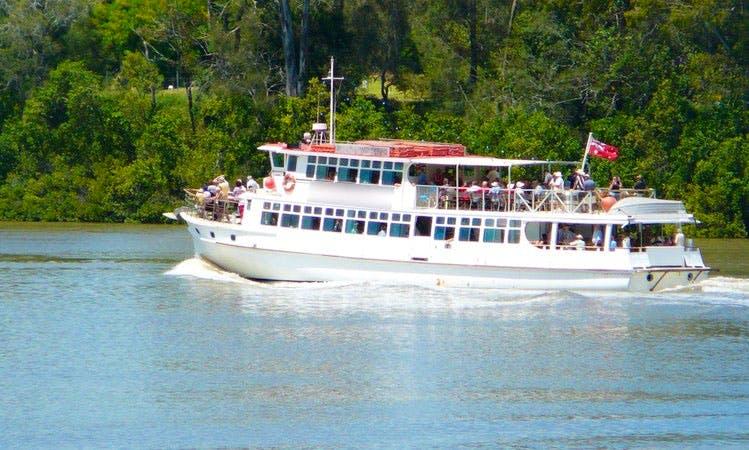 Enjoy Bremer River Day Cruise in Hamilton, Queensland on Lady Brisbane