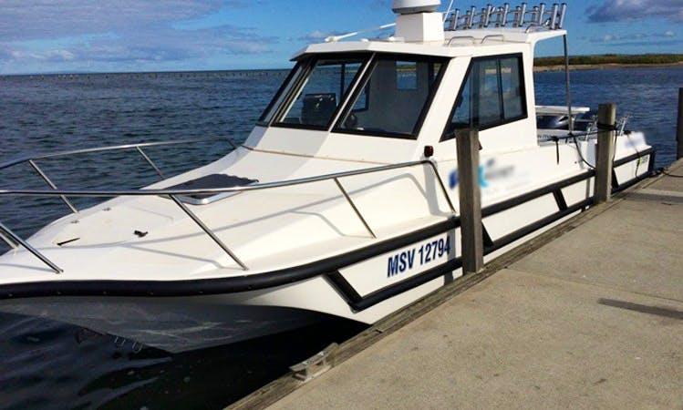 "29' ""FV Magnet"" Fishing Charters in Werribee, Victoria, Australia"