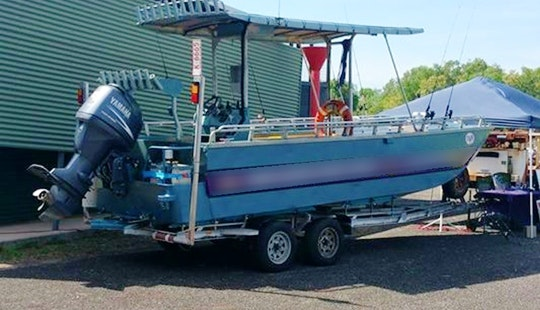 Enjoy Fishing In Darwin City, Northern Territory On River Runner 111 Center Console