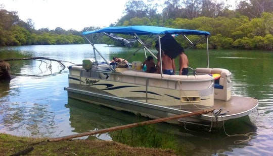 Charter A Pontoon In Brunswick Heads, Australia