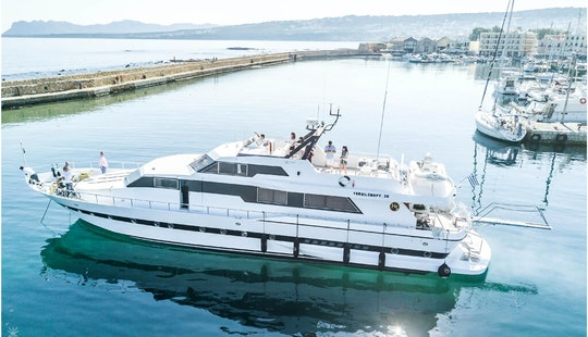 Motor Yacht Rental In Piraeus