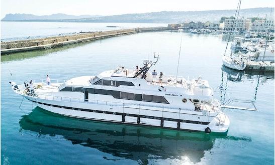 Motor Yacht Rental In Chania