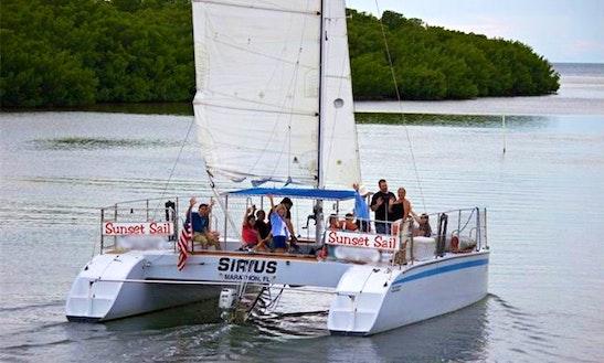 Enjoy Marathon, Florida On 36ft 'sirius' Sailing Catamaran