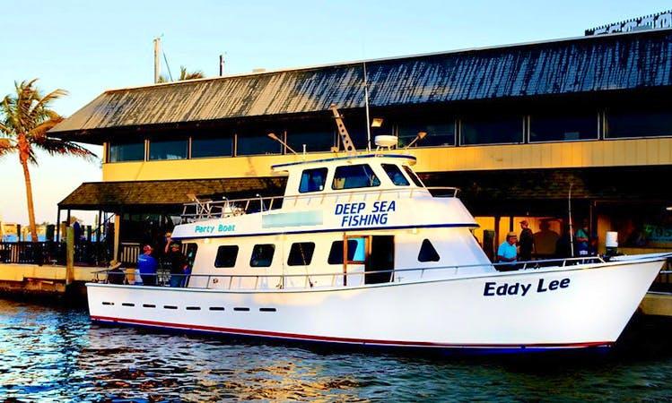 "Deep Sea Fishing Charters On 53ft ""Eddy Lee"" Yacht In Cortez, Florida"