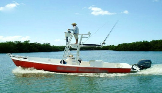 Enjoy 24 Ft Center Console Fishing Charter In Saint Petersburg, Florida